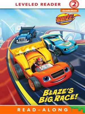 cover image of Blaze's Big Race!