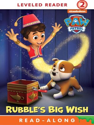 cover image of Rubble's Big Wish