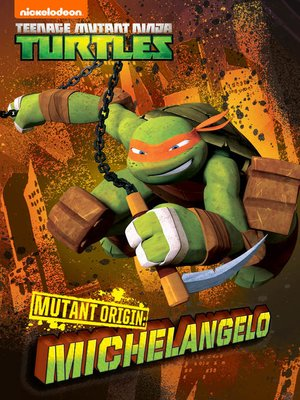 cover image of Mutant Origins: Michelangelo