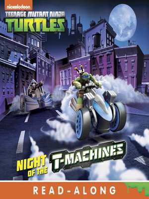 cover image of Night of the T-Machines!