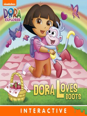 cover image of Dora Loves Boots