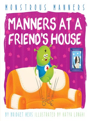 cover image of Manners at a Friend's House