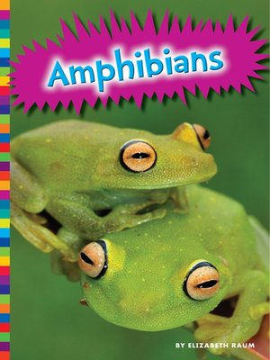 cover image of Amphibians