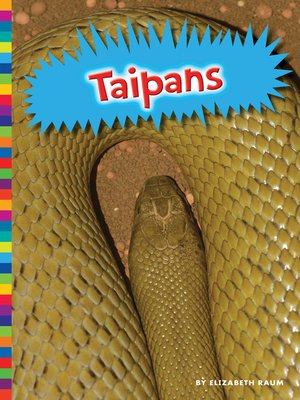 cover image of Taipans