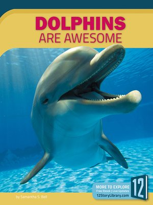 cover image of Dolphins Are Awesome