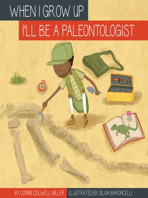 cover image of I'll Be a Paleontologist