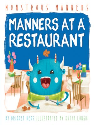 cover image of Manners at a Restaurant