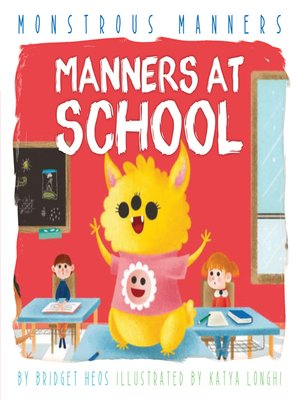 cover image of Manners at School