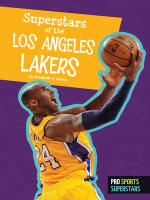 cover image of Superstars of the Los Angeles Lakers