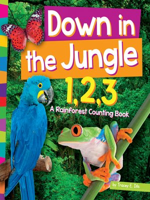 cover image of Down in the Jungle 1,2,3