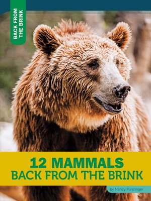 cover image of 12 Mammals Back From the Brink