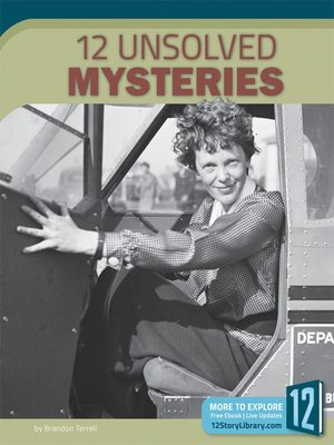 cover image of 12 Unsolved Mysteries
