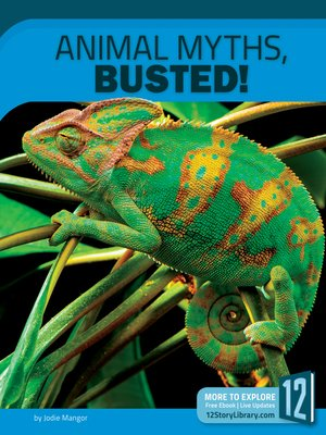 cover image of Animal Myths, Busted!