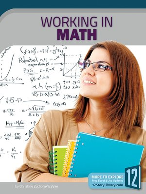 cover image of Working in Math