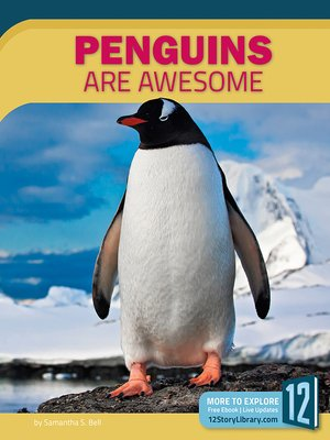 cover image of Penguins Are Awesome
