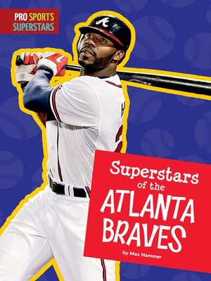 cover image of Superstars of the Atlanta Braves