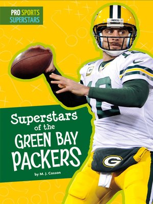 cover image of Superstars of the Green Bay Packers