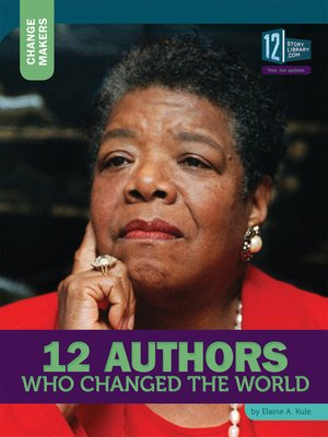 cover image of 12 Authors Who Changed the World