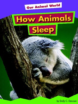 cover image of How Animals Sleep