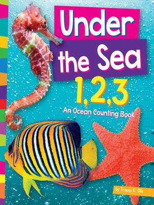cover image of Under the Sea 1,2,3