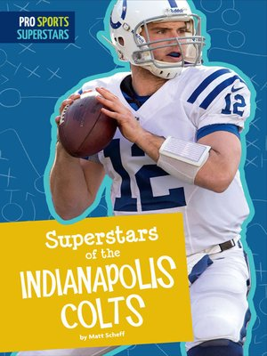 cover image of Superstars of the Indianapolis Colts