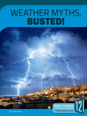 cover image of Weather Myths, Busted!
