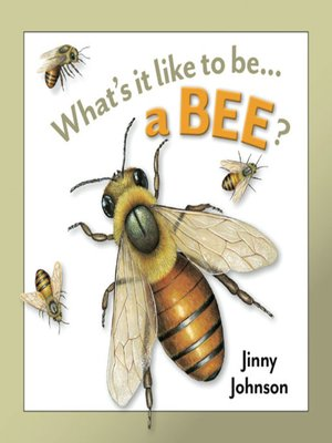 cover image of What's It Like to Be a Bee?