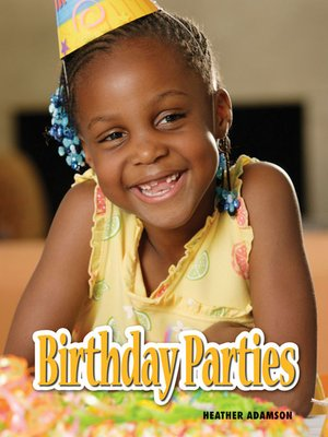 cover image of Birthday Parties