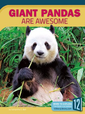 cover image of Giant Pandas Are Awesome