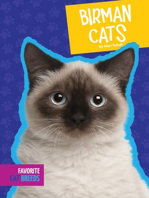 cover image of Birman Cats