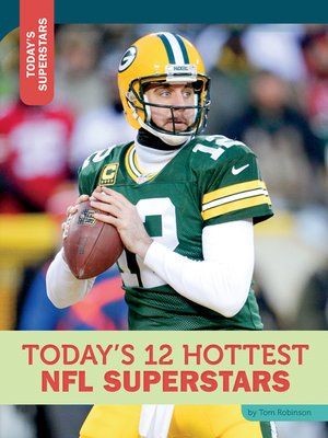 cover image of Today's 12 Hottest NFL Superstars
