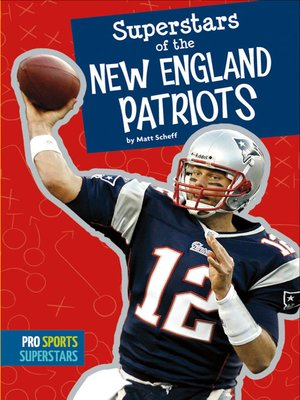 cover image of Superstars of the New England Patriots