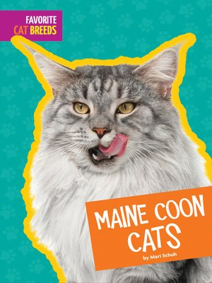 cover image of Maine Coon Cats