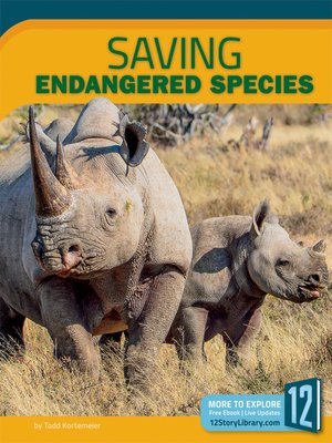 cover image of Saving Endangered Species