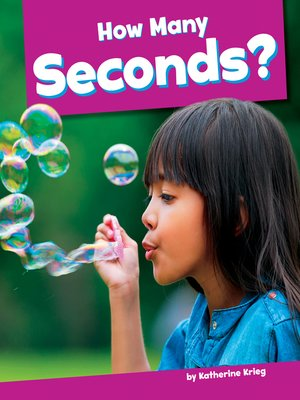 cover image of How Many Seconds?