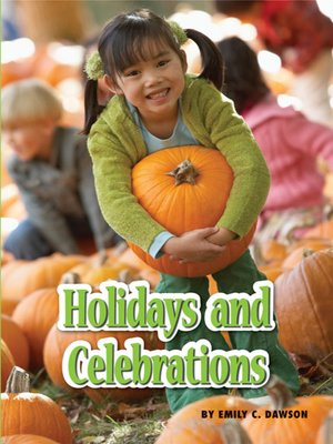 cover image of Holidays and Celebrations
