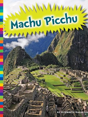cover image of Machu Picchu
