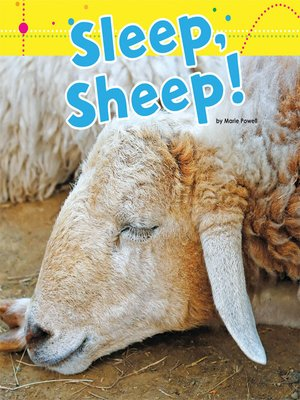 cover image of Sleep, Sheep!