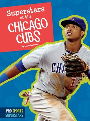 cover image of Superstars of the Chicago Cubs