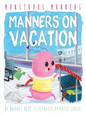 cover image of Manners on Vacation