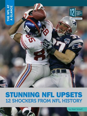 cover image of Stunning NFL Upsets