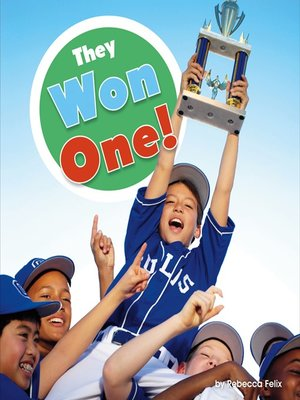 cover image of They Won One!