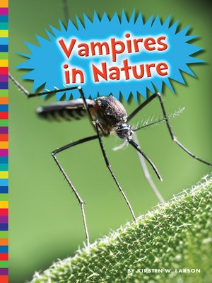cover image of Vampires in Nature
