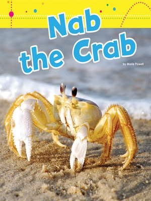 cover image of Nab the Crab