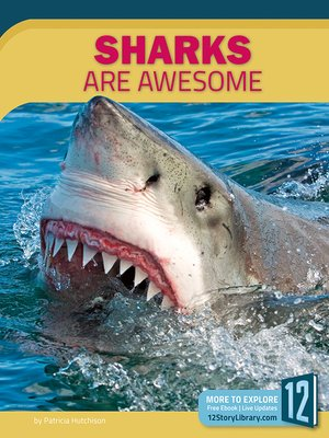 cover image of Sharks Are Awesome