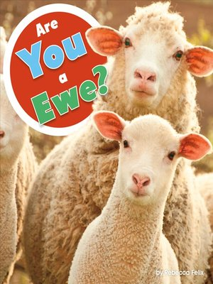 cover image of Are You a Ewe?
