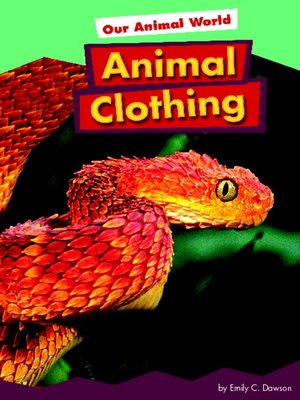 cover image of Animal Clothing