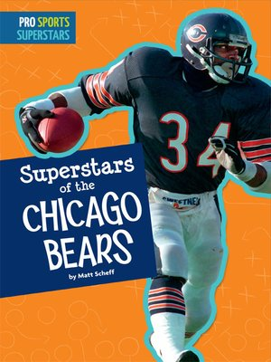 cover image of Superstars of the Chicago Bears
