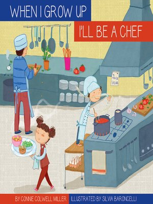 cover image of I'll Be a Chef