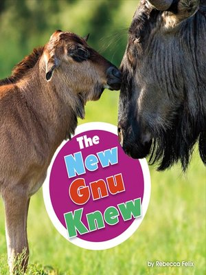 cover image of The New Gnu Knew